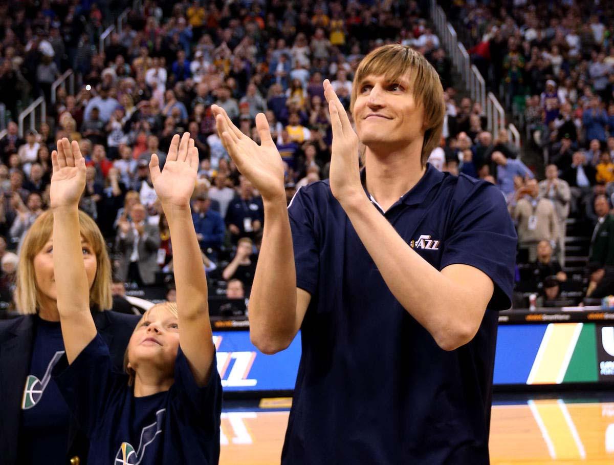 NBA player Andrei Kirilenko family