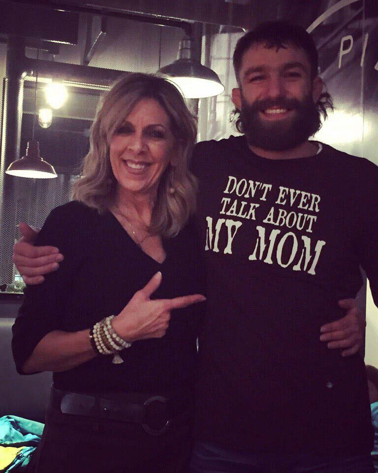 Michael Chiesa and his wife