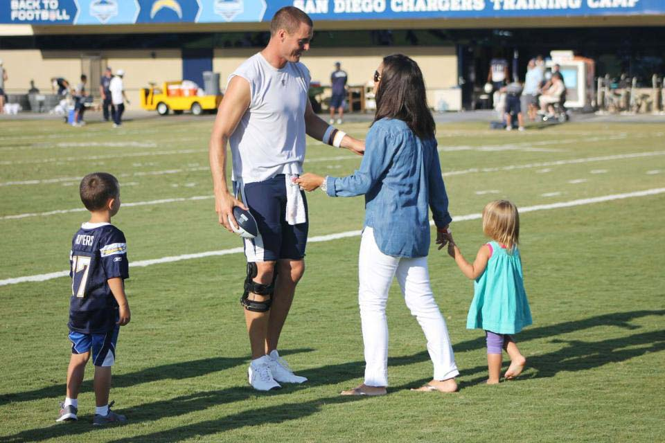 Philip Rivers Wife and Children