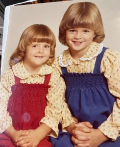 Shannon with her sister