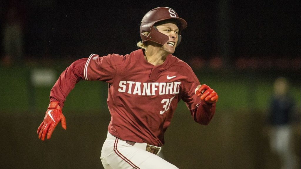 Henderson in action for Stanford