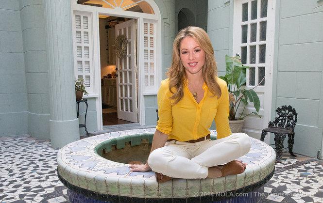 Jen Hale in her condo