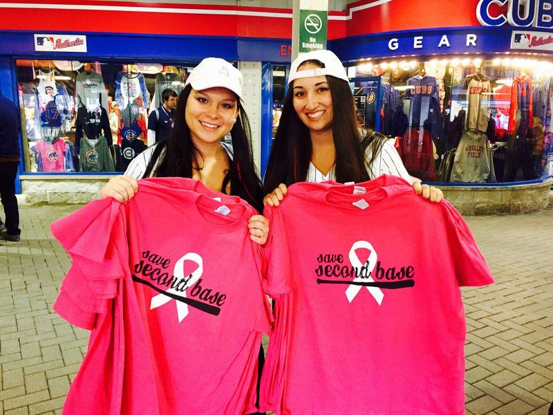 Jessica Delp raising awareness for Breast Cancer
