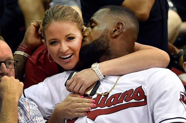 Kristen Ledlow and LeBron James