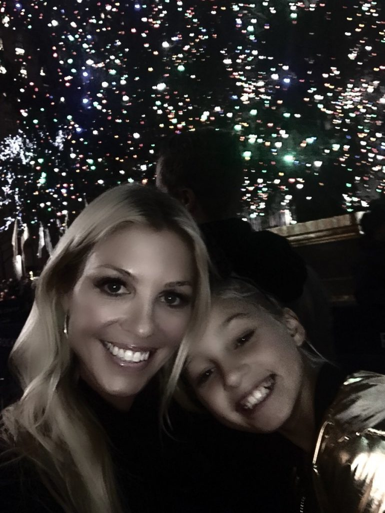 Layla Kiffin with her daughter