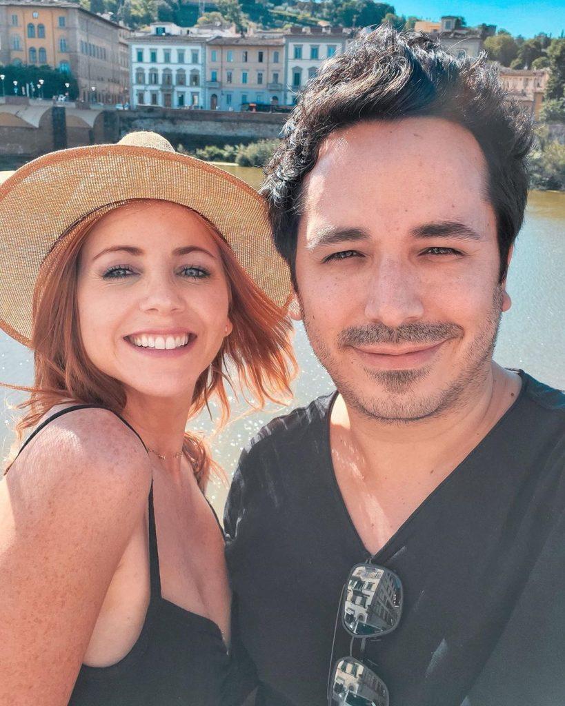 Lynn with her husband