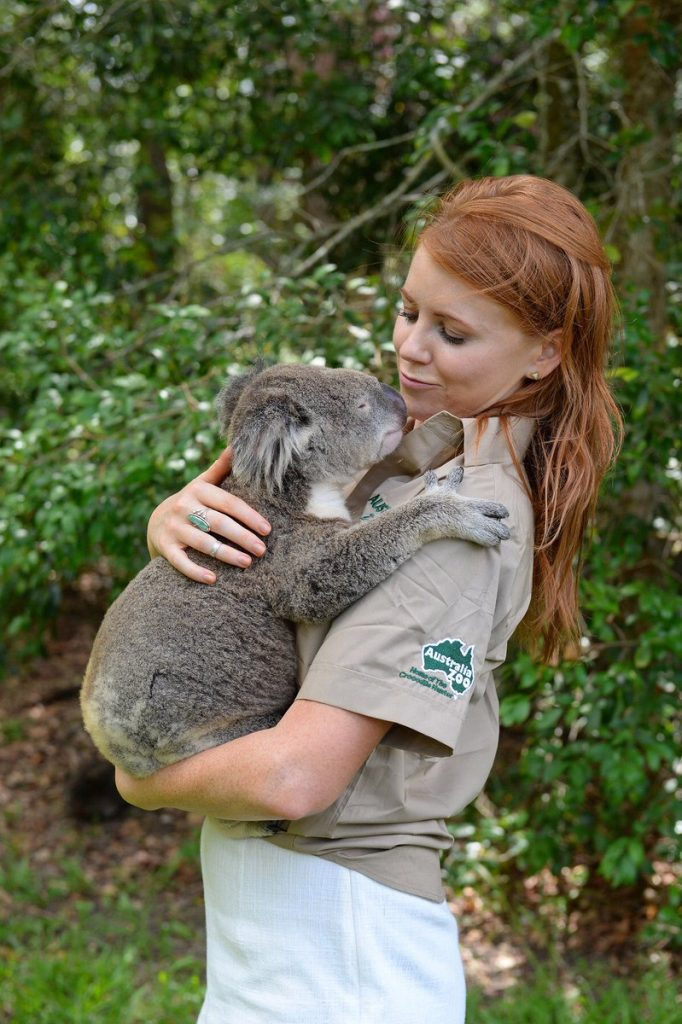 Lynn Gilmartin caring animals