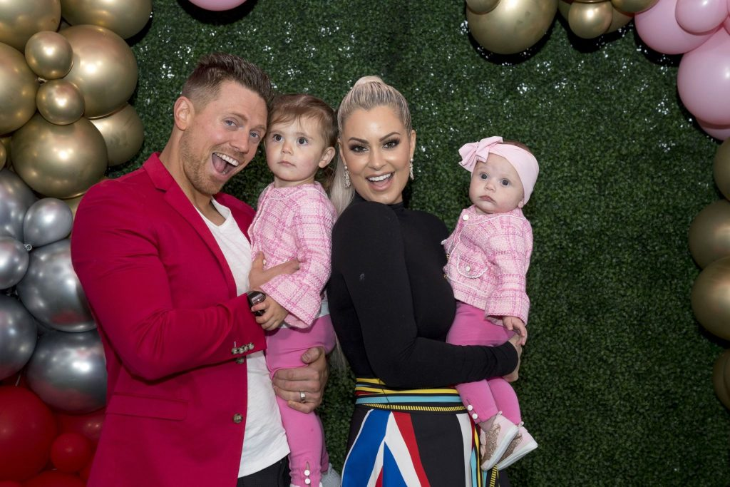 Maryse Ouellet with her family