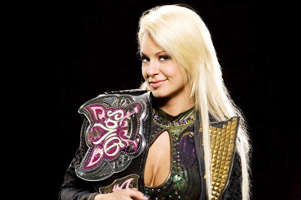 Maryse Ouellet WWE Divas Champion