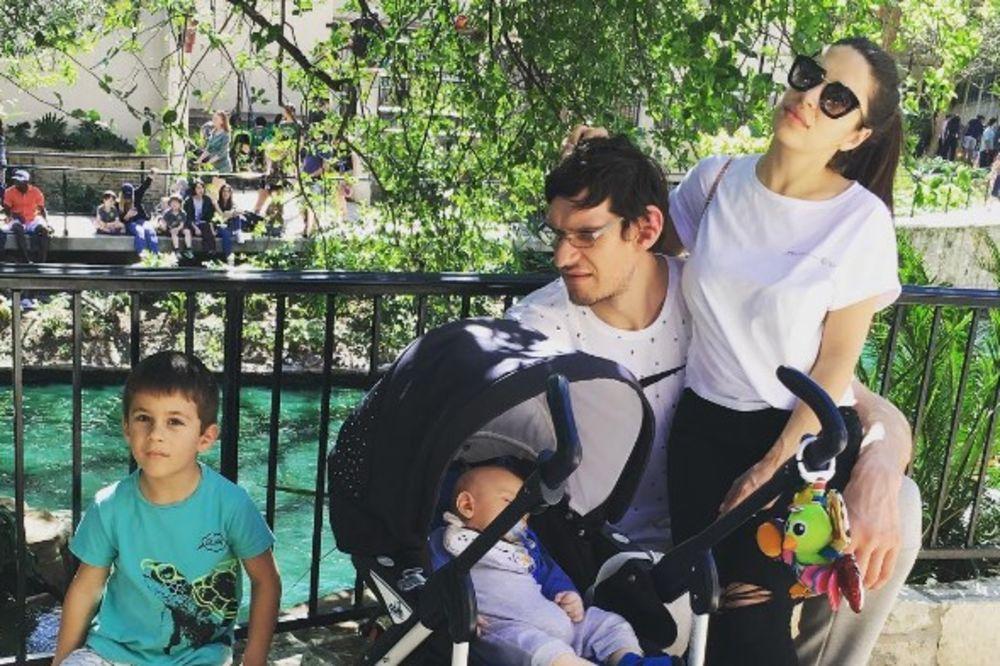 Milica Krstić Family