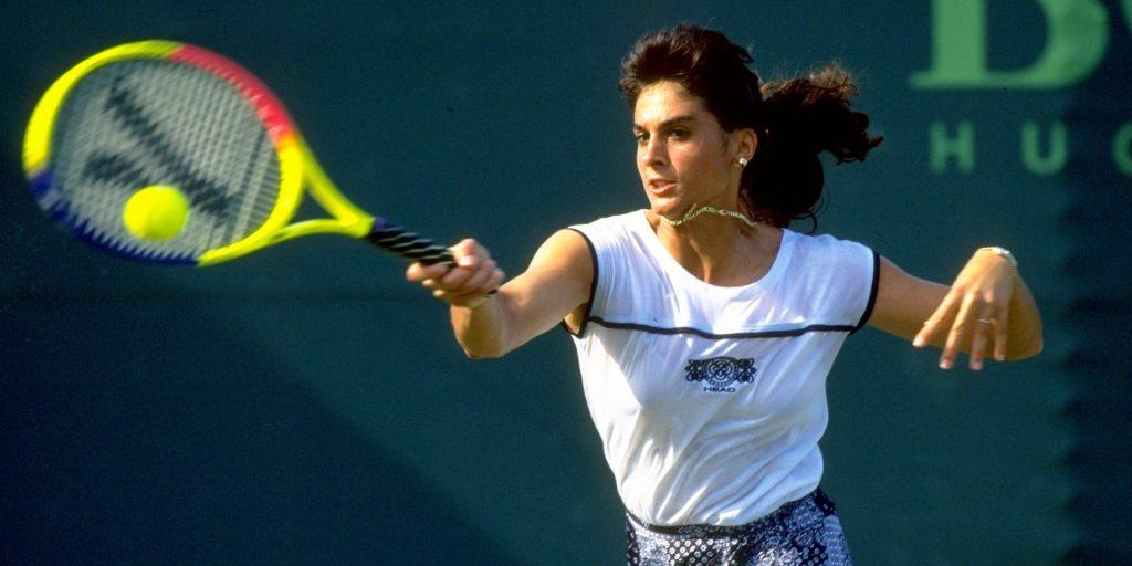 Gabriela Sabatini at US Opens