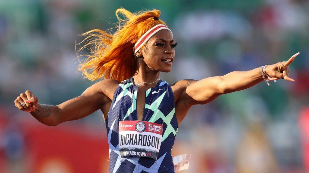 Sha'Carri Richardson suspended for Marijuana use
