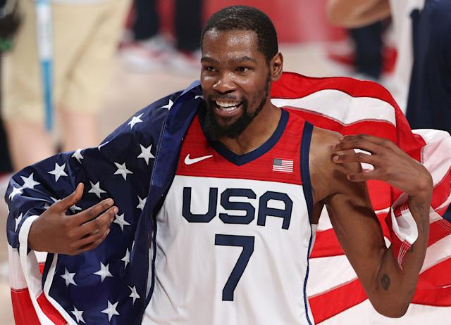 Team USA men's basketball beats France to win fourth straight gold medal at Tokyo Olympics