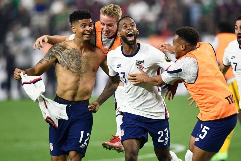 USA WINS AGAINST MEXICO